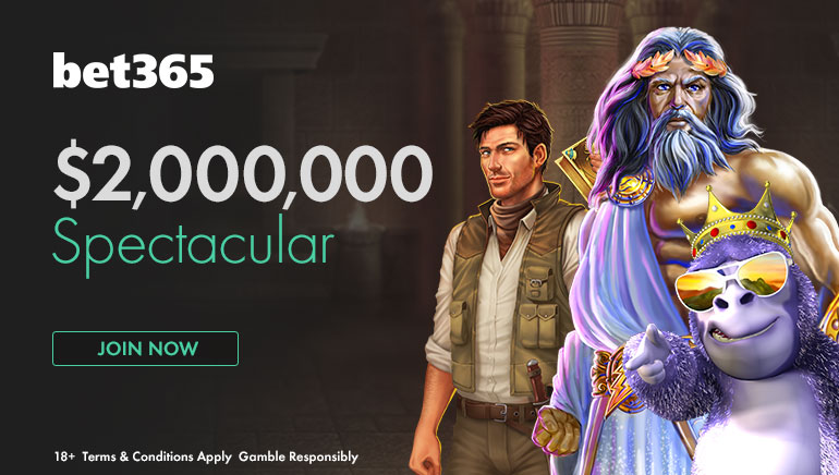 5月の超目玉!bet365で200万ドルの高額賞金獲得のチャンス