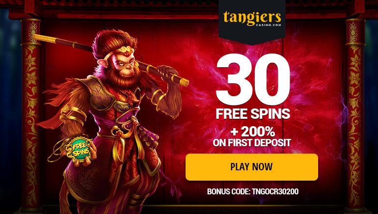 Tangiers Casinoで獲得できる大きなボーナスパッケージ