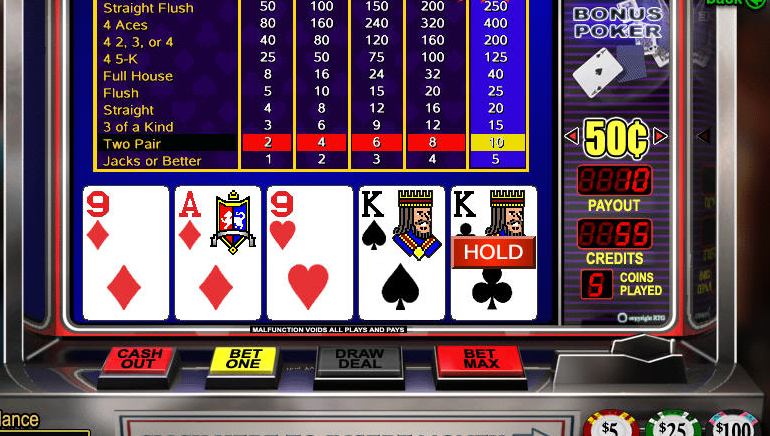 Double Joker Power Poker - Video Poker - Rizk Online Casino Sverige